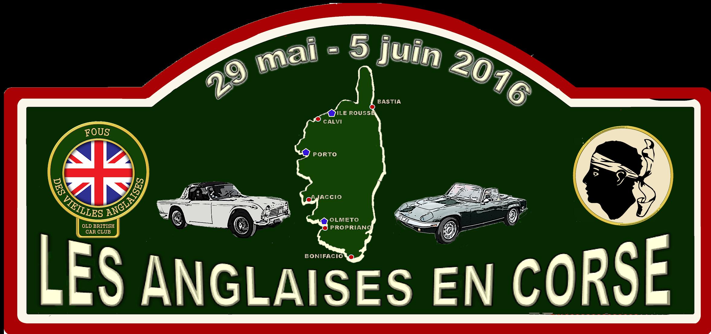 Plaque de rallye EN CORSE v7